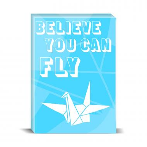 Believe You Can Fly Desktop Print