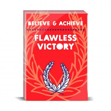 Believe And Achieve Desktop Print