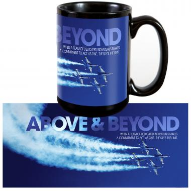 Above & Beyond 15oz Ceramic Mug