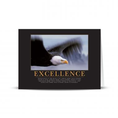 Excellence Eagle Greeting Cards