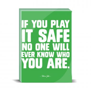 Play It Safe Desktop Print