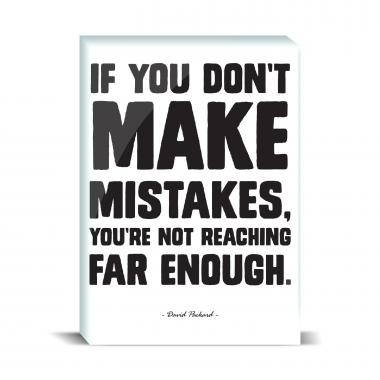 Make Mistakes Desktop Print