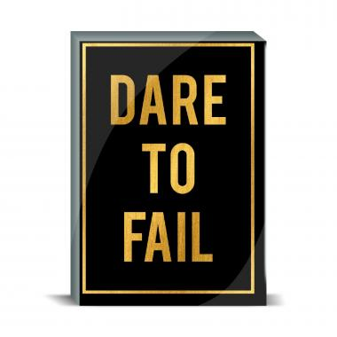 Dare to Fail Desktop Print
