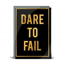 Typography - Dare to Fail Desktop Print