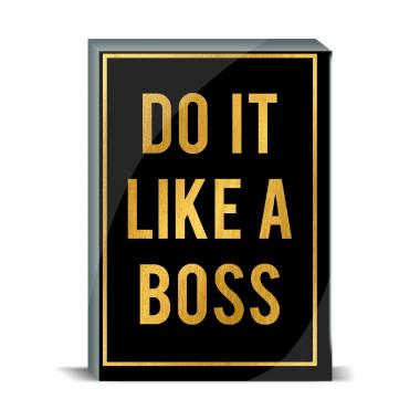 Like a Boss Desktop Print