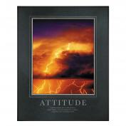 Attitude Lightning Motivational Poster  (734966)
