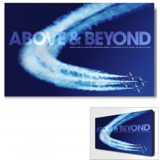Modern Motivational Art - Above & Beyond Jets Motivational Art