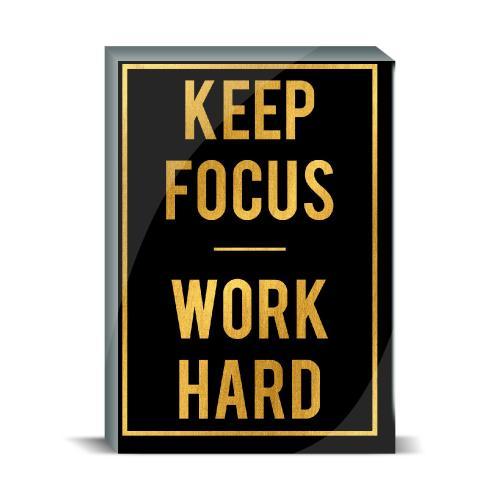 Keep Focus Desktop Print