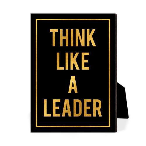 Think Like A Leader Desktop Print
