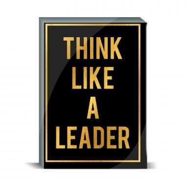 Think Like a Leader Desktop Print