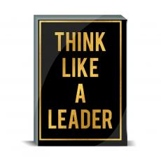 Gold Series - Think Like a Leader Desktop Print