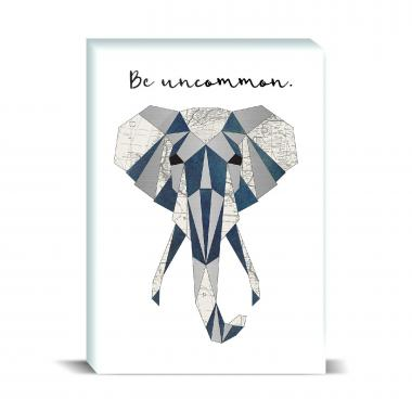 Be Uncommon Elephant Desktop Print