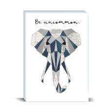 Studious Studio - Be Uncommon Elephant Desktop Print