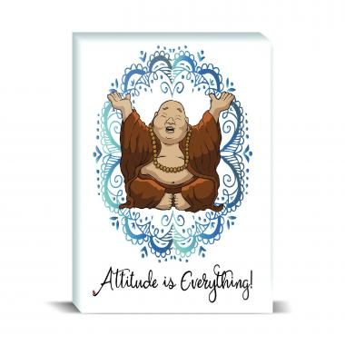 Budi Attitude Is Everything Desktop Print