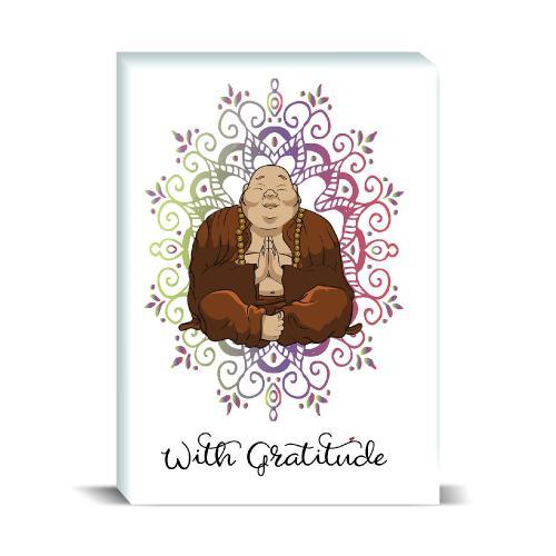 Budi Gratitude Desktop Print