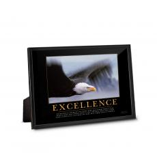 Employee Gifts - Excellence Eagle Framed Desktop Print
