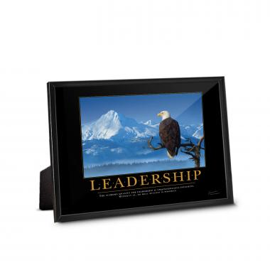 Leadership Eagle Framed Desktop Print