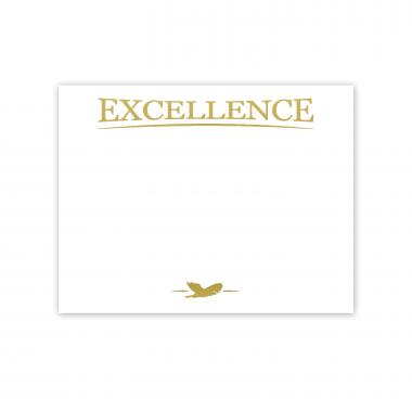 Excellence Eagle Gold Foil Certificate Paper