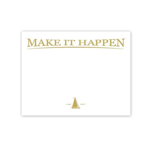 make it happen gold foil certificate paper award certificate paper
