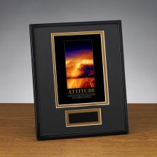 Framed Award - Attitude Lightning Framed Award