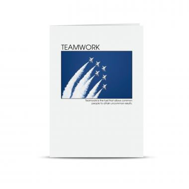 Welcome Teamwork 25-Pack Greeting Cards
