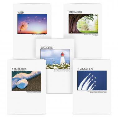 Serenity Series Card Sampler-25 Pack