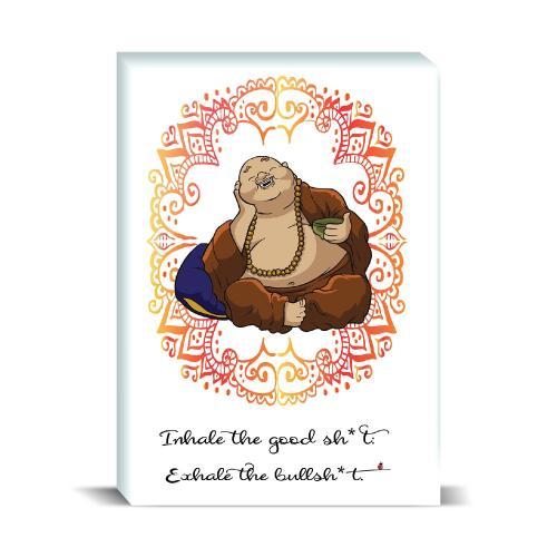 Budi Inhale Desktop Print