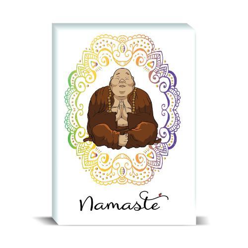 Budi Namaste Desktop Print