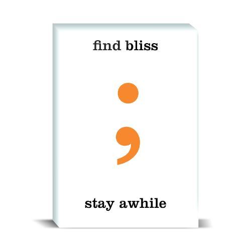 Find Bliss Desktop Print