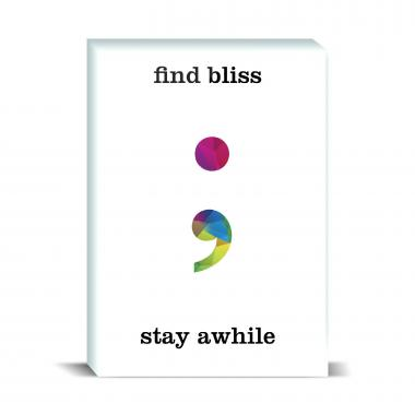 Find Bliss Geometry Desktop Print