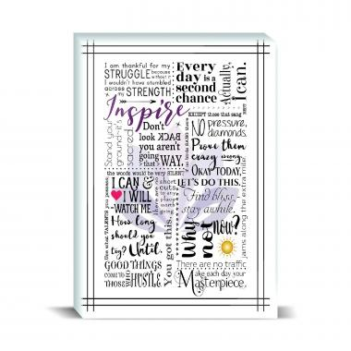 Inspire Lotus Desktop Print