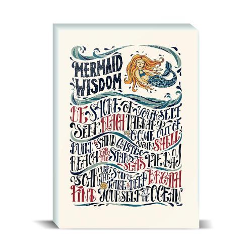 Mermaid Wisdom Desktop Print