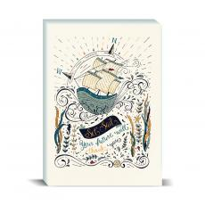 Typography - Ship Set Sail Desktop Print