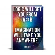 Space Series - Imagination Desktop Print