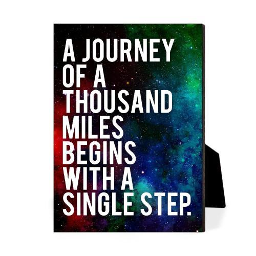 Journey Desktop Print