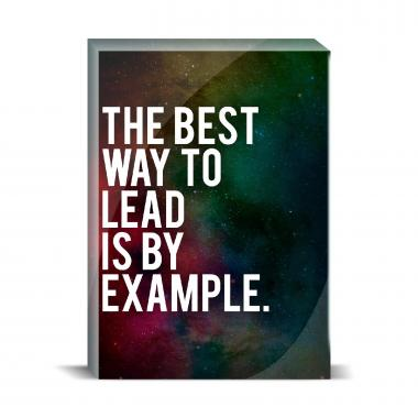 Lead By Example Desktop Print