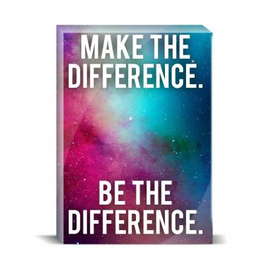 Make The Difference Desktop Print