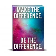 Space Series - Make The Difference Desktop Print