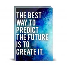 Space Series - Predict The Future Desktop Print