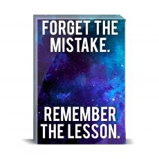 Space Series - Remember The Lesson Desktop Print