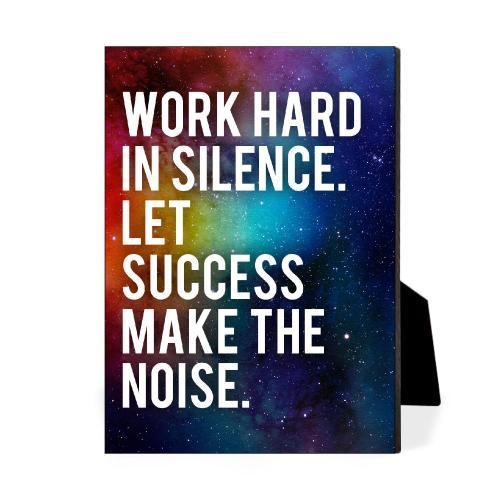 Success Make The Noise Desktop Print