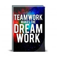 Space Series - Teamwork Desktop Print