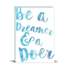 Watercolor Series - Be A Dreamer Desktop Print