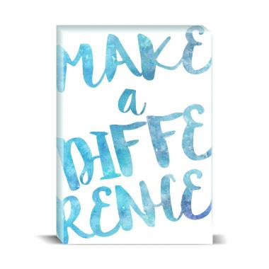 Make a Difference Desktop Print