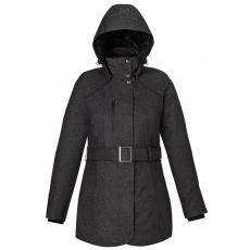 Outerwear - Enroute;North End Sport<sup>®</sup> - XS-XL -  Women's blue textured insulated jacket with heat reflect technology