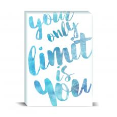 Watercolor Series - Your Limit Desktop Print