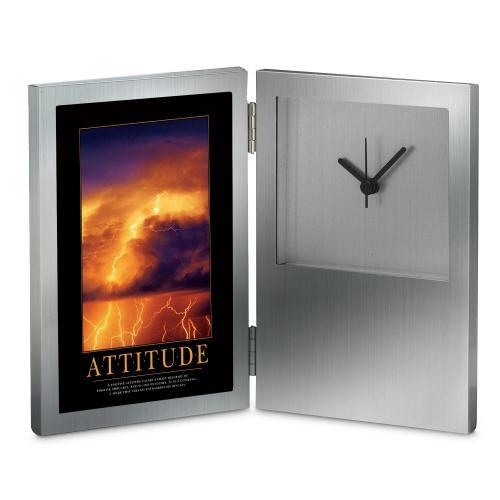 Attitude Lightning Desk Clock