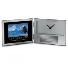 Clock Awards - Leadership Eagle Desk Clock