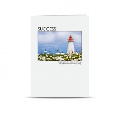 Anniversary Success Lighthouse Greeting Cards