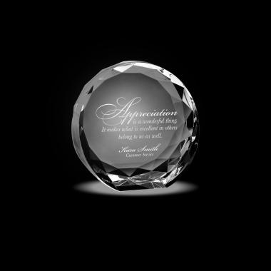 Facet Crystal Award
